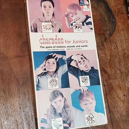CHARADES for Juniors 1968 Game