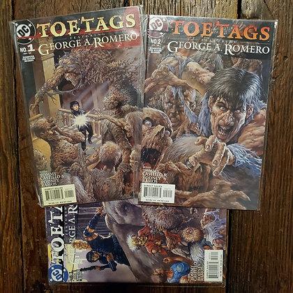 George A Romero TOETAGS #1,2,3 - Comic Book Deal