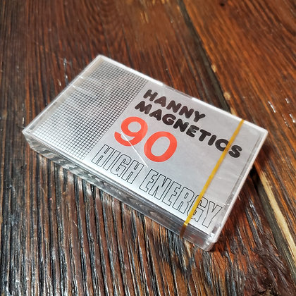 Sealed Hanny Magnetics Blank Cassette Tape