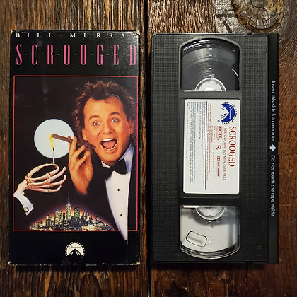 SCROOGED - VHS