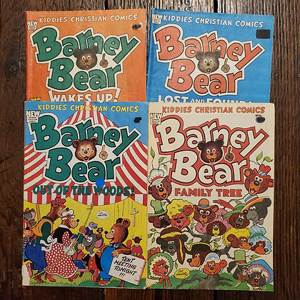 BARNEY BEAR - 4 Comic Book Deal