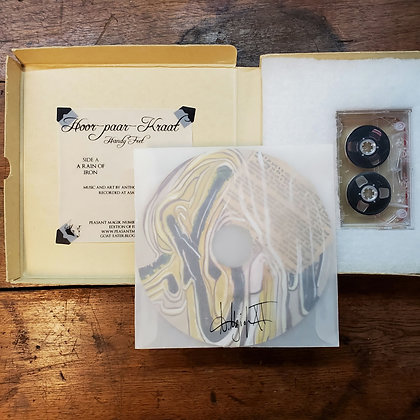 "HOOR-PAAR-KRAAT ""Handy Feet"" - Artist Edition Box Set (Cassette + 7"" Painting)"