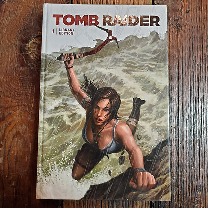 TOMB RAIDER Library Edition Volume 1 (Large 2018 Hardcover)
