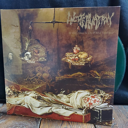 ENCOFFINATION : O'Hell, Shine In Thy Whited Sepulchres - Clear Vinyl LP ltd.250