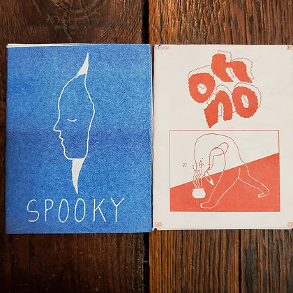 2 Small Zines by Kendra Yee
