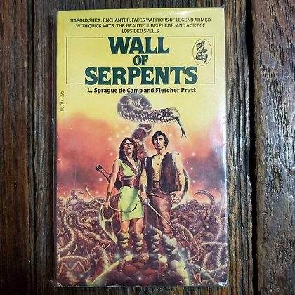 Camp & Pratt : WALL OF SERPENTS - Vintage Paperback