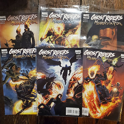 GHOST RIDERS : Heaven's on Fire 6 Comic Book Pack (Reader Condition)