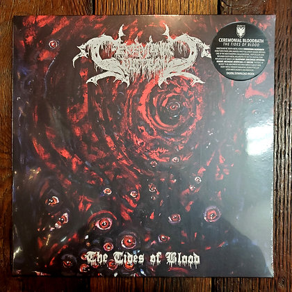 CEREMONIAL BLOODBATH : The Tides of Blood - Vinyl LP (NEW 2020)