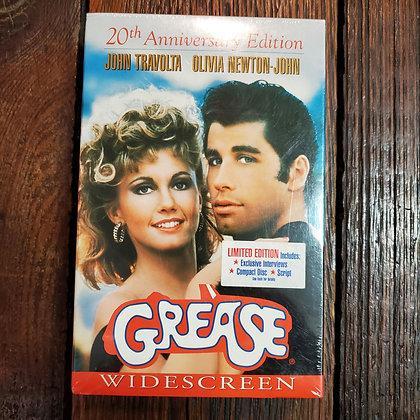 GREASE - Still Sealed 20th Anniversary VHS + Script