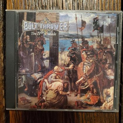 BOLT THROWER : The IVth Crusade - CD
