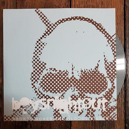 BOYS NIGHT OUT : Broken Bones / Bloody Kisses - Grey Vinyl LP (300 Pressed)