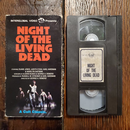 NIGHT OF THE LIVING DEAD - Interglobal VHS