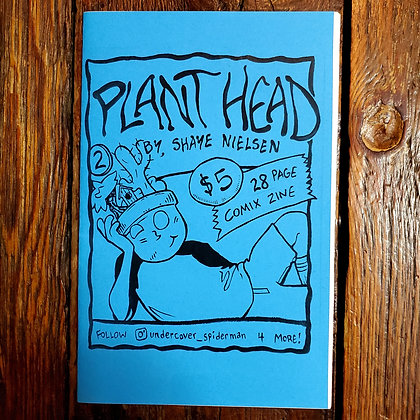 PLANT HEAD #2 - Local Comic Book by Shaye Nielsen