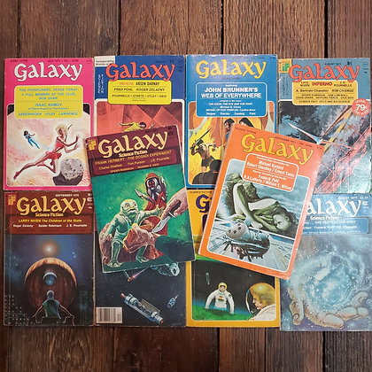 GALAXY Science Fiction 10 Pack Deal (1973-1977)