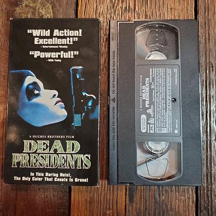 DEAD PRESIDENTS - VHS