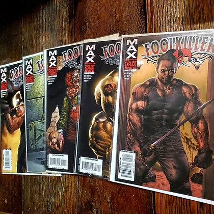 FOOLKILLER 5 Comic Set