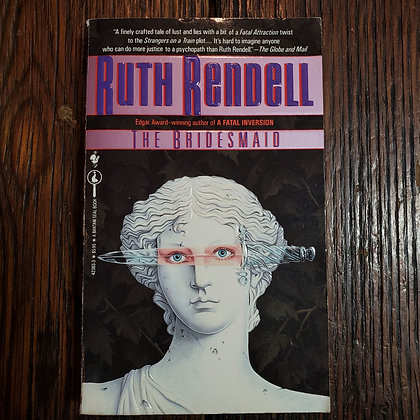 Rendell, Ruth : THE BRIDESMAID - Paperback Book