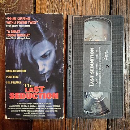THE LAST SEDUCTION - VHS