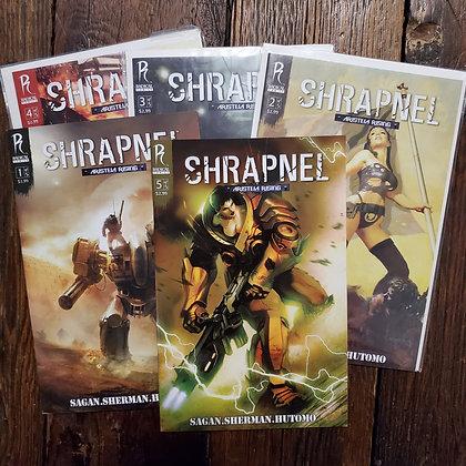 SHRAPNEL Mega 8 Comic Book Deal