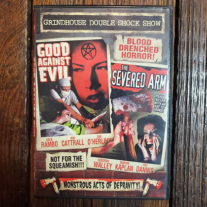 Good Against Evil (1977) + The Severed Arm (1973) - Grindhouse Double Shock DVD