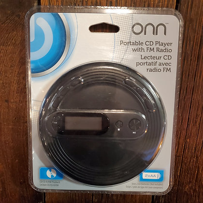 ONN Portable CD player- (Still sealed / Old New Stock)