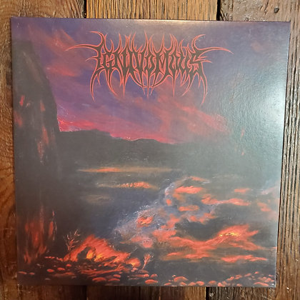 IGNIVOMOUS : Contragenesis - RED Vinyl LP (Small inner jacket wear)
