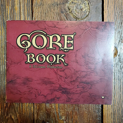 GORE BOOK (Signed Art Zine ADULTS ONLY - 13Crowns)