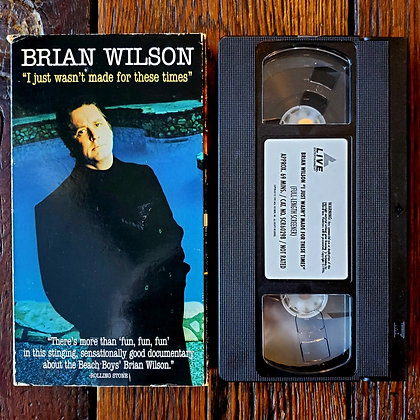 BRIAN WILSON : I Just Wasn't Made For These Times - VHS Screener Tape