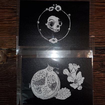 "WALDEINSAMKVLT ""Tasty & Ring"" Local Art Print 2 Pack"