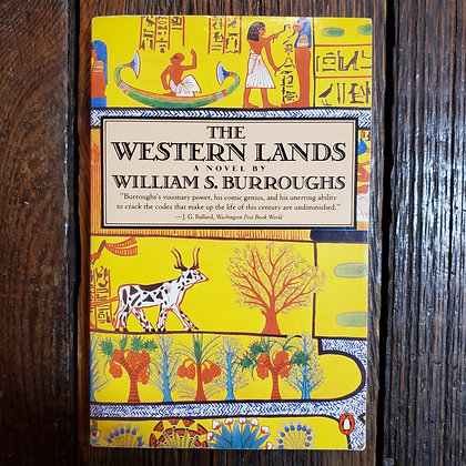 Burroughs, William S : THE WESTERN LANDS - Softcover Book