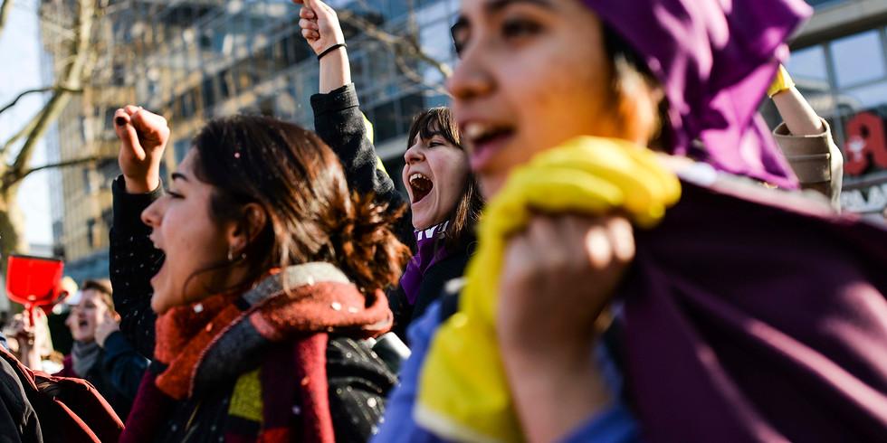 Workshop: Wenn wir streiken, steht die Welt still - Feminismus, Klasse, Frauen*streik!