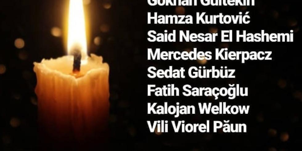 Mahnwache für die Opfer der rassistischen Morde von Hanau