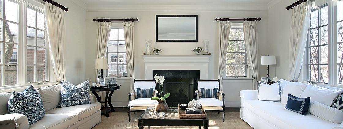 Elegant Living Room - Surrey 2020