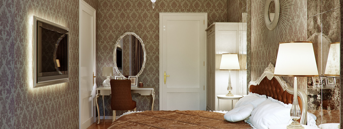 Apartment - French Style Bedroom - Wandsworth, London 2020