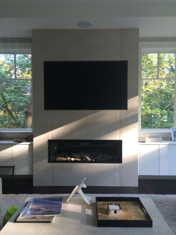 TV Soundbar Wall Mounting Hidden Cable