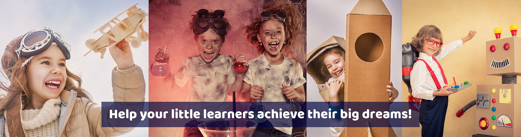 Help your little learners achieve their