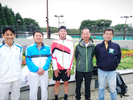 社会人テニス大会開催中!