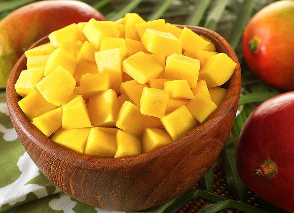 Fromage blanc à la mangue fraîche