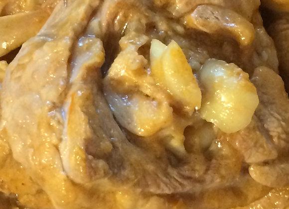Osso Buco Dinde au Curry