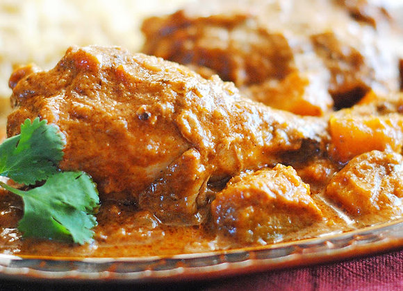 Cuisse de poulet au Curry