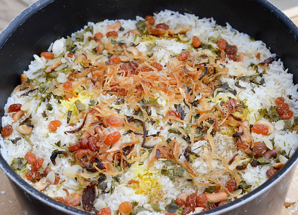 Authentique Hydrabad Dhum Biryani