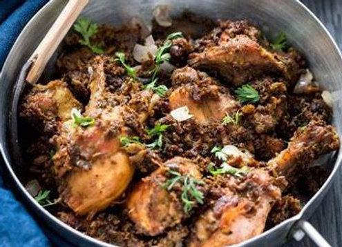 Chetinad Chicken Varuval