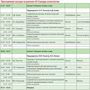 XI съезд онкологов и радиологов стран СНГ и Евразии