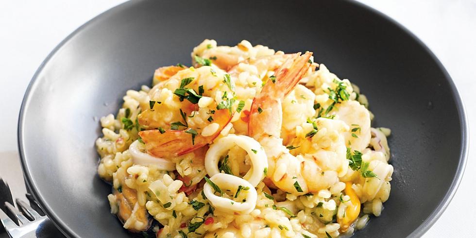 Seafood risotto - Georgia