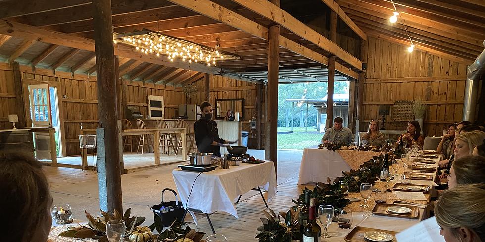 Cooking at The Barn - November 18th