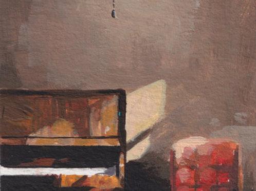 Art Print by Lossapardo - the piano