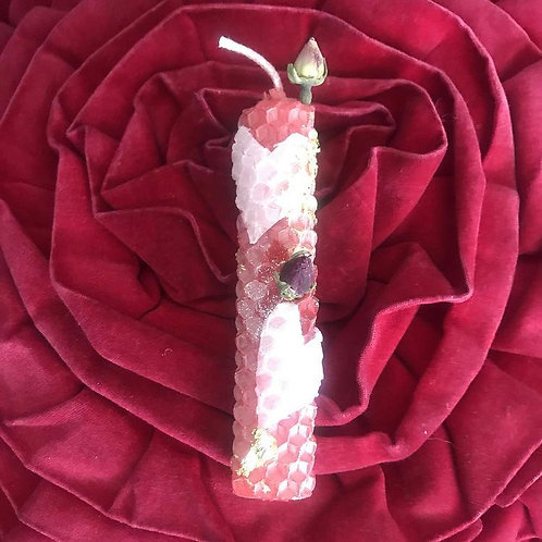 Handcrafted Love Candle & Spiritual Bath