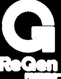 ReGenFrieds Logo White