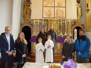 Taufe von Flaggl Mira Liv & Nael Lian