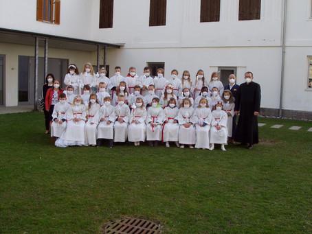 Erstkommunion der 3.Klassen der VS Sankt Marein am 10.04.2021
